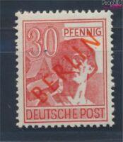 Berlin (West) 28 geprüft postfrisch 1949 Rotaufdruck (8717000
