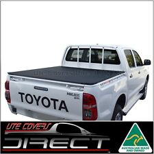 Tonneau Cover suits Toyota Hilux Dual Cab(Apr2005-Aug2015)J-Deck Workmate ClipOn