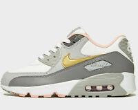 1ac229fd95 Nike Air Max 270 GS BG GunSmoke Grey Atomic Pink White Juniors Girls ...