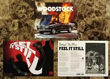 PORTUGAL THE MAN Feel It Still 2017 Ltd Ed RARE Flexi-Vinyl & Woodstock Postcard