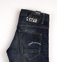 G-Star Raw Herren Morris Niedrig Gerades Bein Jeans Größe W29 L32 APZ256