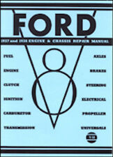 Ford 1937-1938 Engine Repair Manual Book