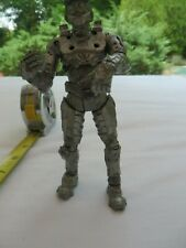 Halo 3 Master Cheif Silver Spartan TMP 2011 Action Figure 2011