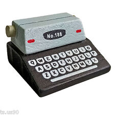 Rare Wooden Typewriter for Barbie 1:6 Scale Doll's House Dollhouse Miniature New