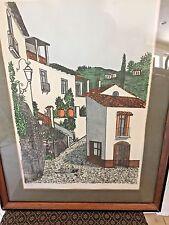 PARISIAN CITY SCAPE LITHOGRAPH BY DENIS PAUL NOYER  LTD ED.SIGNED 84/275 COA