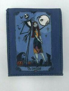 Nightmare Before Christmas Wallet Bifold Denim Jack Skellington Sally Halloween