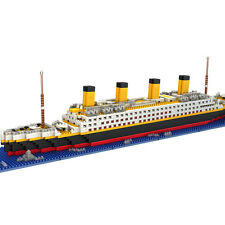YZ Diamond 1860Pcs/Set Movie TITANIC Ship Mini Nano Building Blocks Toys Gifts