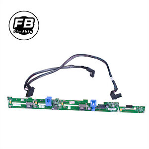 Dell Poweredge R620 HDD 8 Bay Backplane Upgrade Kit KVGG1& Cable TK2VY US Stock