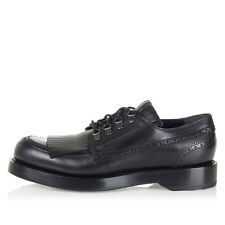 $990 NEW Gucci Men's  Leather Fringed Brogue Lace-up Shoe sz  Italy +9