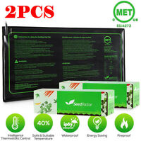 2 Pack Seedling Heat Mat Seedfactor Germination Reptile Heating Pad Seed Starter