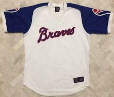 Vintage Authentic Majestic Atlanta Braves Cooperstown MLB Jersey XL Made In 🇺🇸