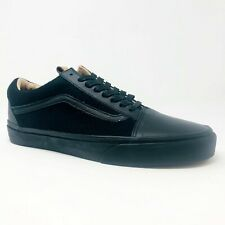 Vans Old Skool Reissue CA (Leather & Wool) Black Black  Mens