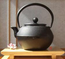 Tetsubin Japanese style Cast Iron black hobnail tea pot kettle 1.2L