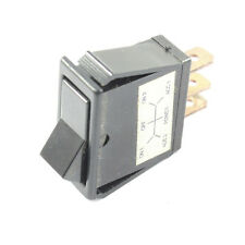 Rocker Switch - On / Off 16A Rated at 12V - Car Tractor Lorry Dash / Light