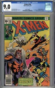 X-Men #104 CGC 9.0 VF/NM 1st Appearance of Starjammers WHITE PAGES