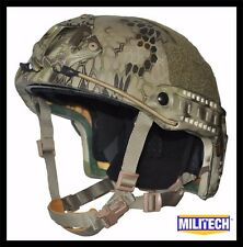 Highlander Deluxe M/LG LVL IIIA High Cut Ballistic KEVLAR Bullet Proof Helmet