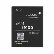 Bluestar Akku für Samsung I9100 Galaxy S2 1800 mA Premium Batterie Handy Accu