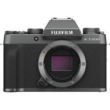 Fujifilm x-t200 Digital Mirrorless Camera Body-Dark Silver
