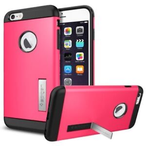 New in Box OEM Spigen Slim Armor Azalea Pink Case For iPhone 6 Plus/6s/7/8 Plus