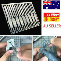 1PC 9 in 1 Detail Grinding Stick File Set For 1/144 Gundam Model Decoration Tool