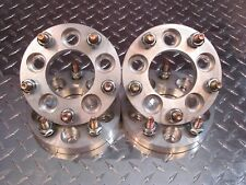 "5x130 to 5x120 US Wheel Adapters 19mm Thick 12x1.5 Lug Stud 3/4"" Spacers x4 71.5"