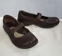 Born Womens Mary Janes Brown Leather Casual Work Career  9
