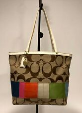 3ba4b5c6f613 Coach Patchwork Leather Tote Bags   Handbags for Women