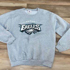 Philadelphia Eagles NFL Sweatshirt Size Large Gray NFC East