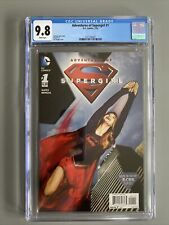 The Adventures of Supergirl #1 (2016) CW TV Show CGC 9.8 White Pages🔥