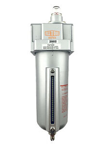 """1/2"""" Heavy Duty Coalescing Filter System with 0.01u Micron Element Manual Drain"""