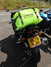 SPADA Motorbike Motorcycle Waterproof 30 Litre Dry Bag With Carry Straps Fluo