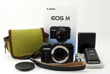 Canon EOS M 18.0MP Digital Camera Body [Exc++] w/ 90EX & Case from Tokyto JAPAN