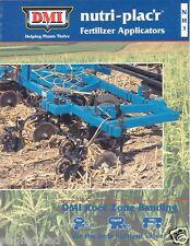 Farm Equipment Brochure - DMI - NH3 Nutri-plac'r Fertilizer Applicator (F2326)