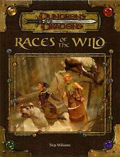 D&D - Dungeons & Dragons Ed 3.5: Races of the Wild - Razze Selvagge - Eng USATO