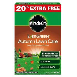 Scotts Miracle-Gro Evergreen Autumn Lawn Care Food Fertilizer -120m2 & 400m2