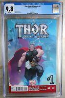 Thor God of Thunder #1 1st Necroworld Marvel 2013 CGC 9.8 NM/MT WP Comic Q0062