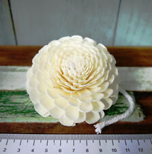 100 Jasmine Sola Wood Diffuser Flowers 8 cm Dia. with cotton rope