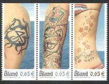 Aland 2006 Tattoos/Design/Art/Tattoo/People 3v set stp (n39640)
