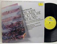 Hindemith Requiem or Those We Love NM- DG 2543 825 LP Collectors Series NICE!