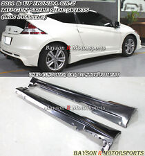 Mu-gen Style Side Skirts (ABS) Fits 11-15 CR-Z 2dr