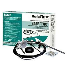 16' Seastar TeleFlex Safe-T QC Quick Connect Rotary Boat Steering System SS13716