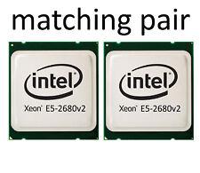 2 x Intel Xeon E5-2680v2, 10 Core 2,8Ghz bis 3,6GHz LGA 2011>> matching pair <<