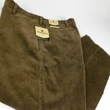 Woolrich Men Brown Corduroy Dress Pants Dark Loden Westvaly W 40 L 30