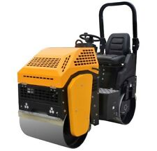 Vibratory Roller 2,000 lbs with Honda Gas Engine for road and asphalt Teqmac