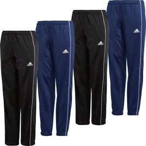 Adidas Boys Tracksuit Bottoms Core 18 Kids Football Training Pants Trouser Size