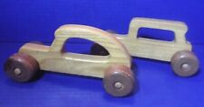 Vintage Wooden Toys / Car and Truck