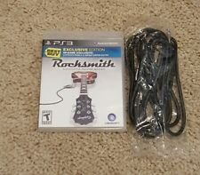 Rocksmith Authentic Guitar Games PS3