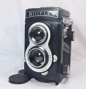 Bioflex Reflex Camera Double Lens for 6x6 Film - Made in Hong Kong
