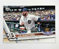 2017 Topps Opening Day #172 J.D. Martinez - NM-MT
