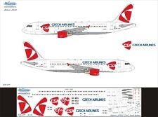 Airbus A320 1/144 Czech Airlines New decal by Ascensio 320-011